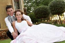 Couple Sit Royalty Free Stock Photo