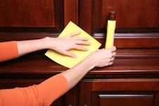 Free Cleaning. Royalty Free Stock Image - 4689196