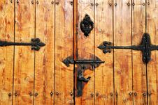 Free Door With Metalic Patterns Royalty Free Stock Image - 4689786