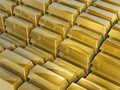 Free Gold Bars Steps Royalty Free Stock Images - 4698649