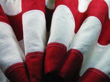 Free USA Flag Rippled Stripes Stock Images - 4690094