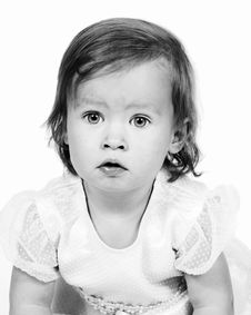 Free Little Baby Girl 18 Months Old Royalty Free Stock Photos - 4690458