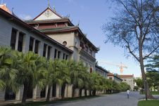 Qunxian Building Of Xiamen University Royalty Free Stock Photos