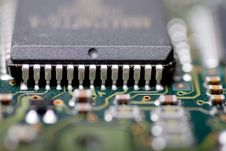 Free Integrated Circuit Royalty Free Stock Photo - 4691325