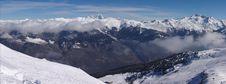 Free Snow Mountain Panorama Royalty Free Stock Photos - 4691868