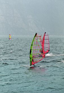 Free Windsurf Garda Stock Photography - 4692012