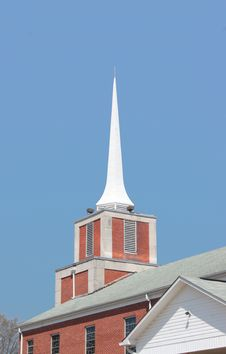 Free The Church Steeple Stock Photo - 4692790