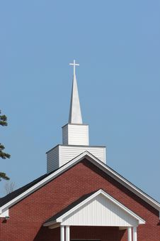 Free The Church Steeple Royalty Free Stock Image - 4692826