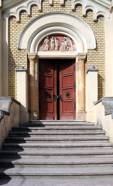 Free Church Door Stock Photography - 4693042