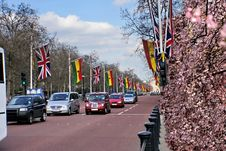 Spring In London Royalty Free Stock Images