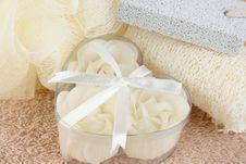 Free Bath Stuff Royalty Free Stock Photo - 4693955