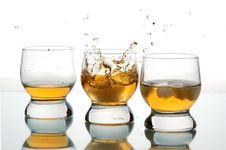 Free Three Glasses Stock Photography - 4694262