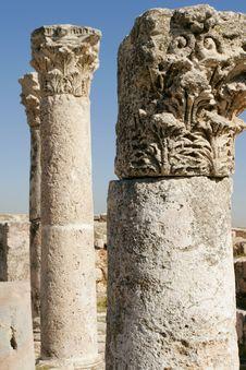 The Roman Ruins Stock Photo