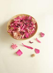 Free Beautiful Pink Dry Flowers Royalty Free Stock Photos - 4694518