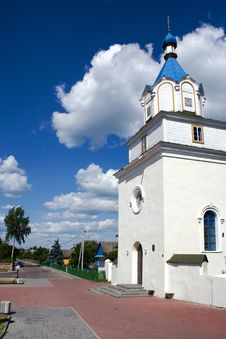 Free Church In Small Town Royalty Free Stock Photography - 4695147