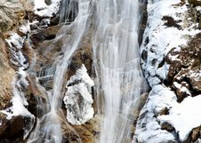 Free Frozen Waterfall Royalty Free Stock Images - 4695539