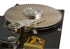 Free Opened Hard Disk Drive Stock Photo - 4695810