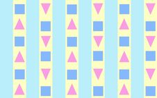 Free Triangles, Squares And Stripes Royalty Free Stock Photo - 4696735