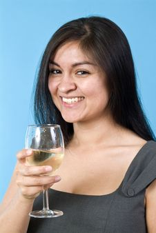 Free Wine And Fun 2 Stock Image - 4696771