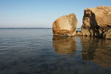 Free Rocks In The Sea Royalty Free Stock Photo - 4697075
