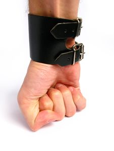 Free Punching Hand Stock Image - 4697391