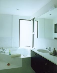 Free Master Bathroom Stock Photography - 4697472