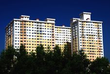 Free Highrise Apartment Stock Photography - 4697502