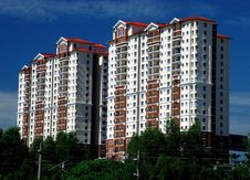 Free Highrise Apartment Royalty Free Stock Photography - 4697587