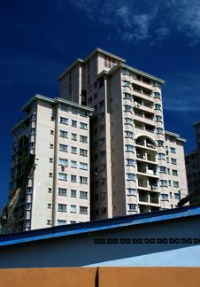 Free Highrise Apartment Stock Photography - 4697772
