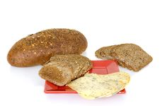 Free Bread And Cheese Royalty Free Stock Photography - 4698037