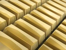 Free Gold Bars Stock Image - 4698611