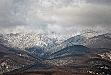 Free Winter Mountain 2 Royalty Free Stock Photography - 4699047