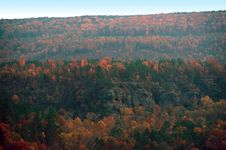 Free Distant Autumn Bluffs Royalty Free Stock Images - 4699399