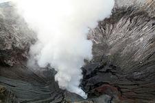 Bromo Crater Stock Photos