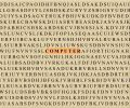 Free Crossword-computer Royalty Free Stock Image - 474346