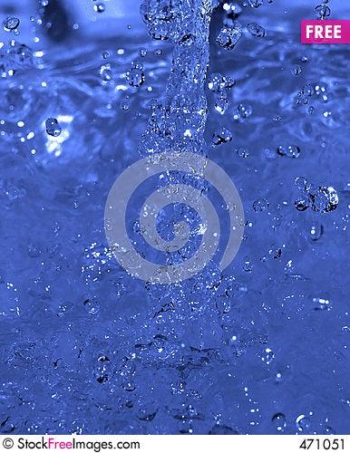 Water flow Stock Photo