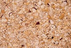 Cork Surface Stock Image