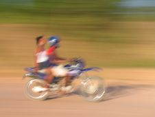 Free Blurred Motorcycle Stock Photos - 470113