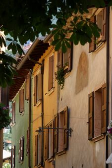 Free The Streets Of Malcesine Stock Image - 470161