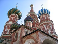 Free St. Basil Cathedral Royalty Free Stock Photo - 470915