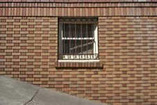 Free Brick Window Stock Photography - 471692