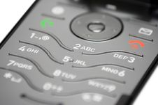 Free Cell Phone Keypad (Close View) Stock Image - 472021