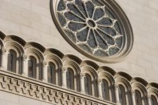 Free Church Face Detail Royalty Free Stock Photography - 472077