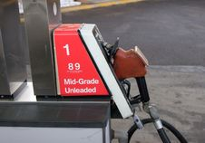 Free Fuel Pump Horizontal Royalty Free Stock Photos - 472818