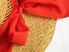 Free Straw Hat (detail) Stock Images - 472914