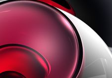 Free Red Sphere In Silver Royalty Free Stock Images - 473359