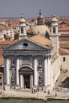 Free Venice Church Royalty Free Stock Photo - 473485