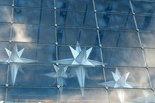 Free Blue Stars Royalty Free Stock Photo - 473955