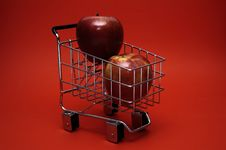Free Healthy Shopping Royalty Free Stock Image - 474506