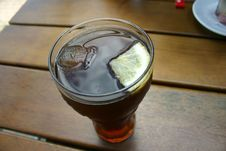 Glas Of Coke Royalty Free Stock Photography